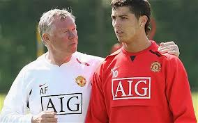 Sir alex ferguson ronaldo