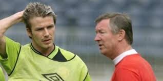 sir alex et beckam